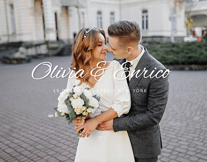 Olivia & Enrico - Wedding Template
