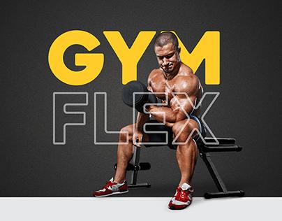 GYM Flex Logo Design