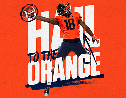 2018 Fighting Illini Football Creative