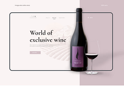 Wine online store