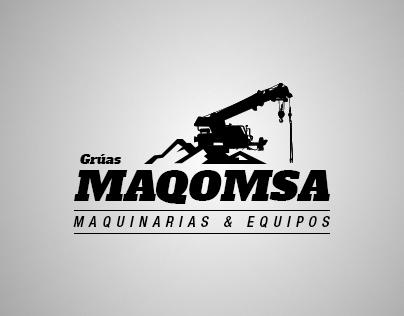 Logotipo Grúas Maqomsa