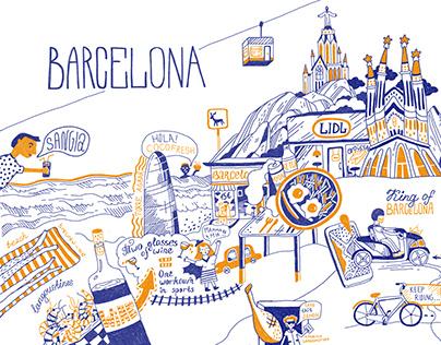 HAVE FUN IN BARCELONA