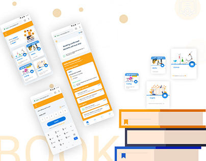 book booking for learning app