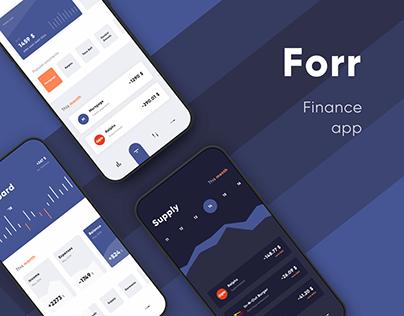 Forr finance app