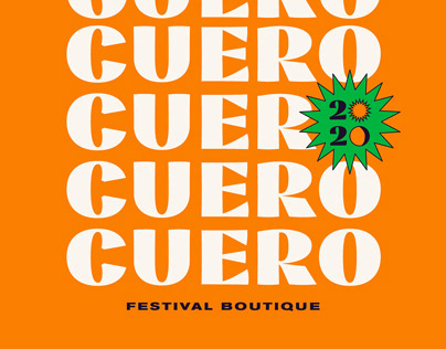 CUERO 2020 - Festival Boutique