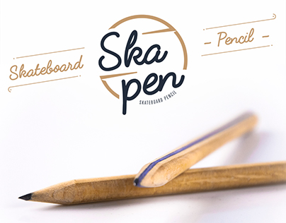 Skapen { Skateboard pencil }