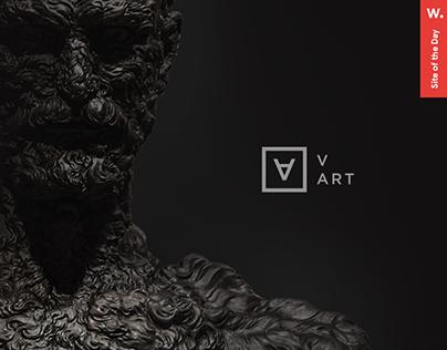 V-Art Gallery | Branding | Ui/UX | Motion
