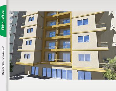 Building rennovation design