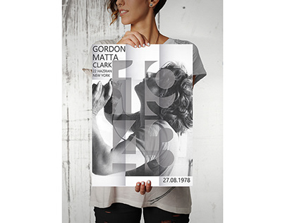 Gordon Matta Clarck Fold Poster