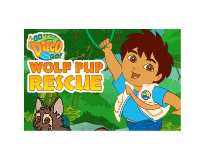 Diego Wolf Pup Rescue ©nickjunior