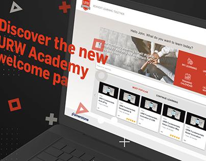 Tutoriel website URW Academy