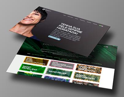 Website - Nanovetores Tecnologia