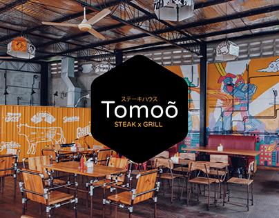 Tomoõ Steak x Grill Visual Branding