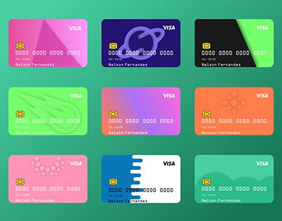 Credit Card Study(3D + Colors)