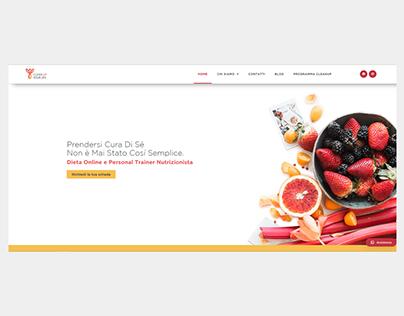 Web Design: Sito Nutrizionista
