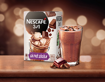 Nescafé Mocha Packaging