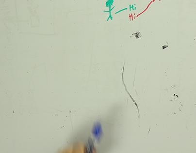 Whiteboard test animation