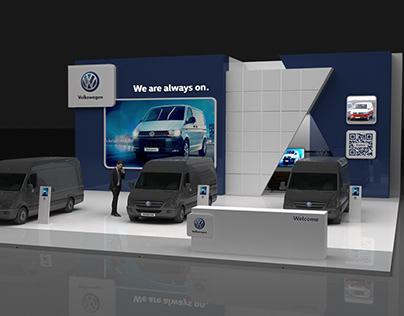 Volkswagen booth design