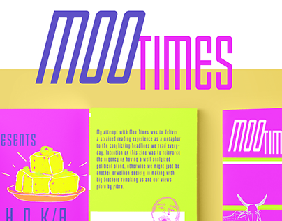 Moo Times- political zine