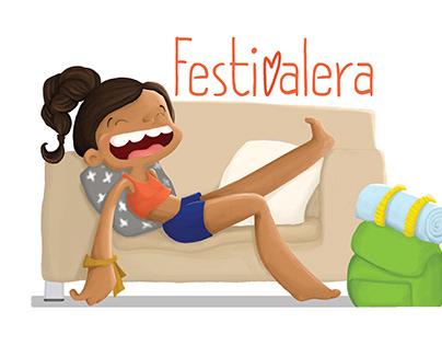 "Bag design ""Festivalera"""