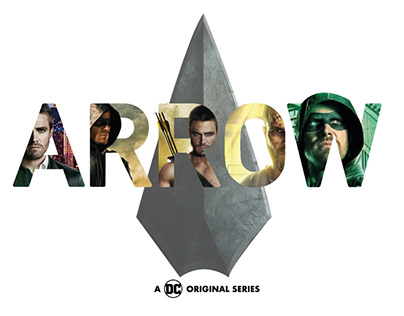 Arrow| Lettering composition