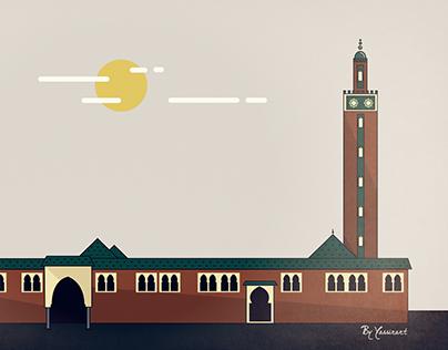 مسجد السنة ـ تيزنيت    Mosquée Assonna Tiznit