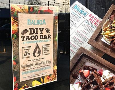 Balboa - Print+Social Media Design