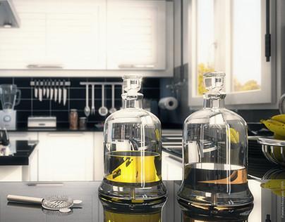 Modern Kitchen (Oldies Focus)