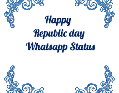 Happy Republic Day Whatsapp Status