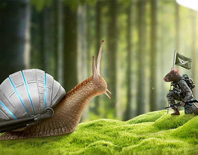 Snail from Space