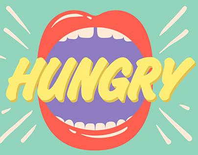 Hungry Illustration & Graphic Design