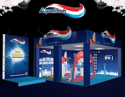 Aquafresh 3D Stand
