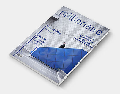 Millionaire: restyling of a business magazine