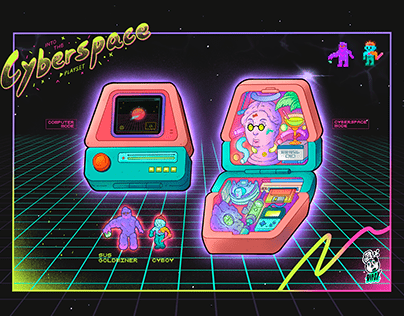 Into the Cyberspace Playset|掌上賽博網路空間
