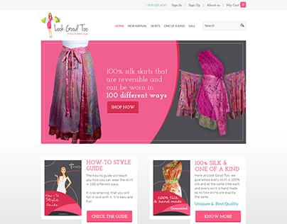 Website design for Look Good Too