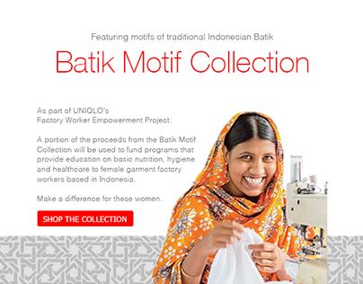 Uniqlo Batik Motif Collection EDM