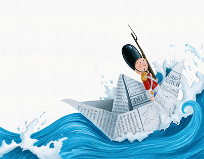 The Steadfast Tin Solider Illustrations