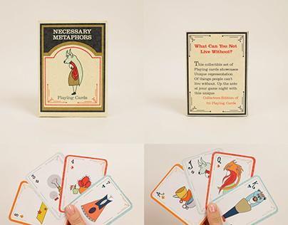 Necessary Metaphors: a card game