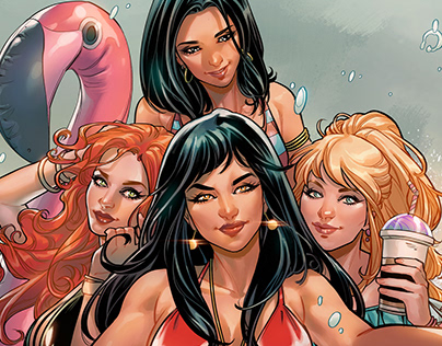 Red Sonja & Vampirella meet Betty & Veronica issue #2
