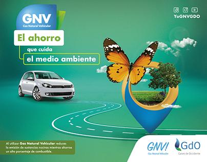 Campaña GNV AHORRO - Gas Natural Vehicular - GDO