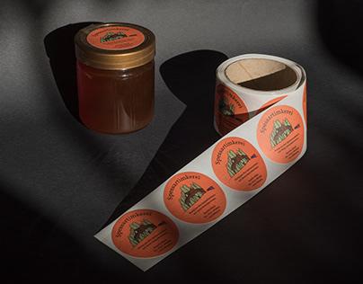 spessartimkerei – honey stickers