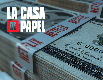 La Casa de Papel (TV series) Cover Netflix