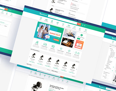 Renzania Website UI Design & Development