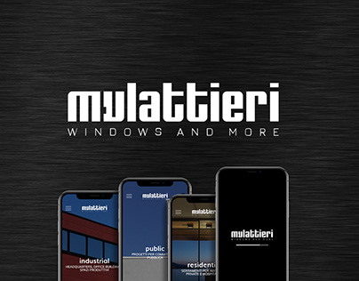 Brand Identity, Web Design, Develop - Mulattieri