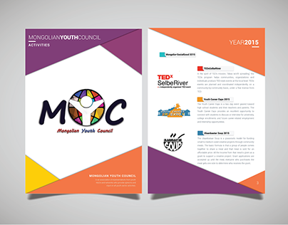 Mongolian Youth Council - Booklet 2015