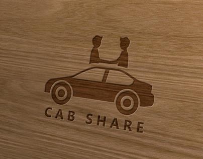 Modern Logo For Cab Share