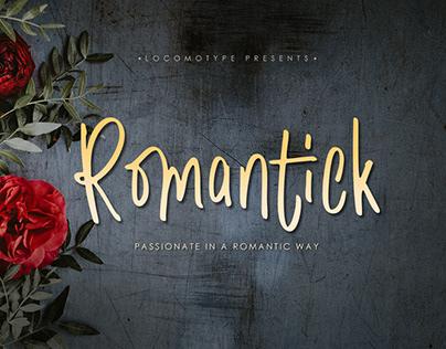 Romantick Free Font