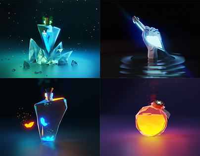 Lowpoly potion, Part 2