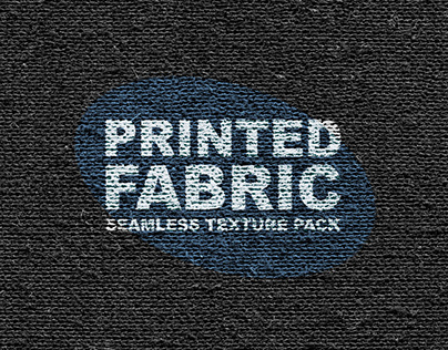 PRINTED FABRIC SEAMLESS TEXTURE PACK