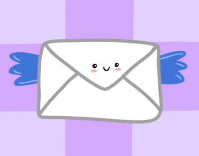 """""""Envelope"""" set of GIFs for instagram"""